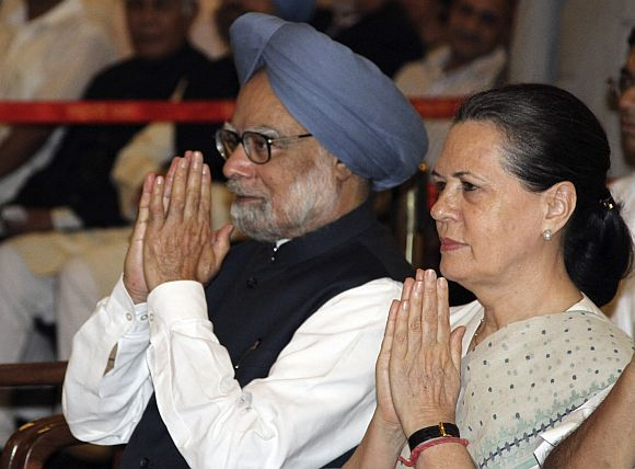 Hussain said that the government (led by PM Singh and Congress chief Sonia Gandhi) can fall anytime.