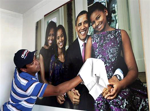 In PHOTOS: Meet Obama's No 1 fan